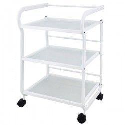 Carrito tres estantes blanco (Help)
