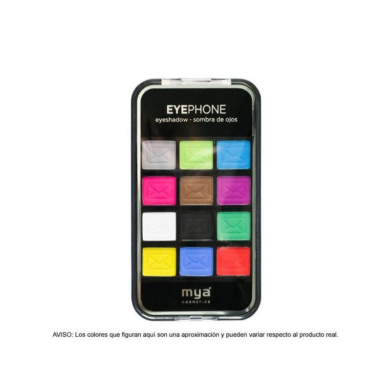 Descatalogado-Paleta Eyephone Happy Eyes Modelo 03 (12 sombras)