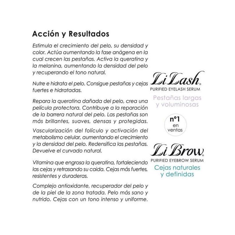 Li Brow - Tratamiento para crecimiento de Cejas 2,95ml.
