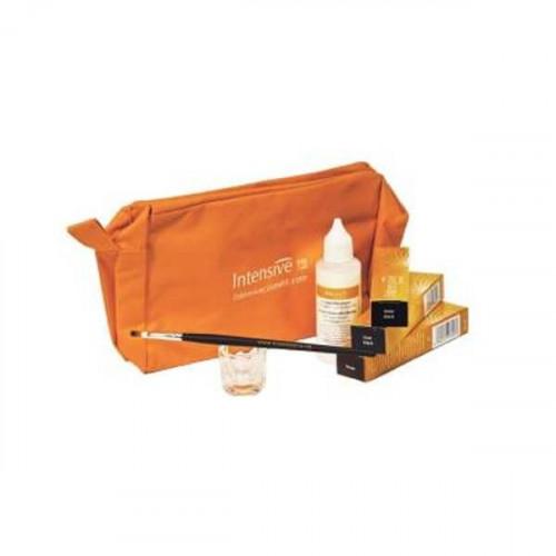 Starlight/Intensive - KIT TINTE DE PESTAÑAS en tubo (3 colores+protector+ag. Oxigenada)