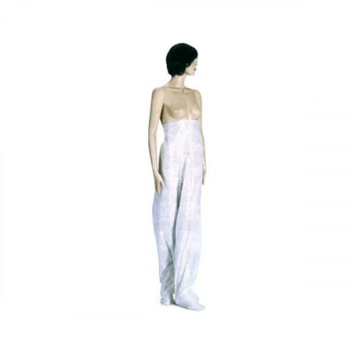 Pantalón presoterapia polipr. blanco 30 gr. (1 Unid.)