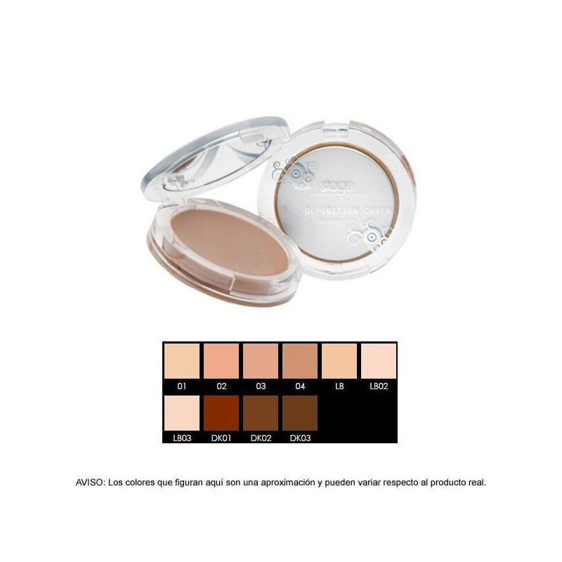 cc5aab206 Maquillaje - 30ml Stage Line - H-DEFINITION COVER. Maquillaje - 30ml