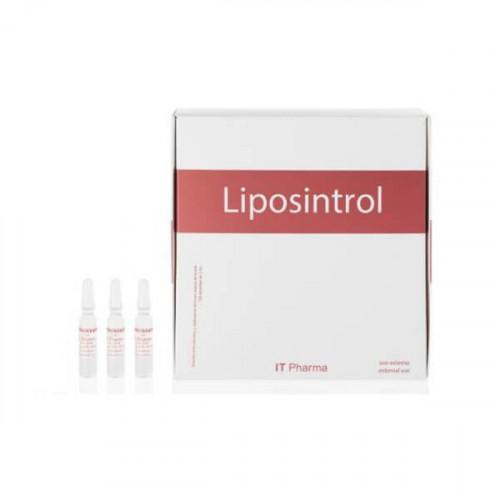 Ampollas corporales celulitis LIPOSINTROL - 10ud. x 2ml.