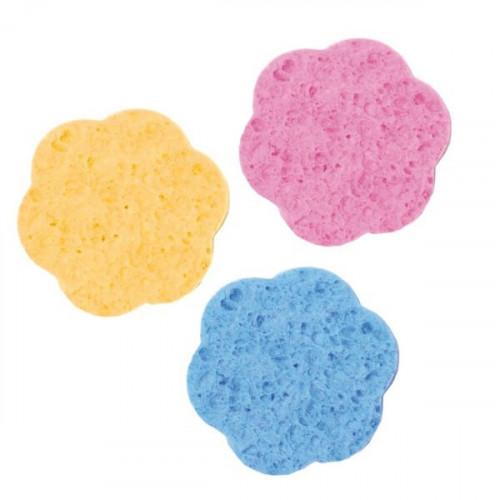 Esponja desmaquillar celulosa 70 mm