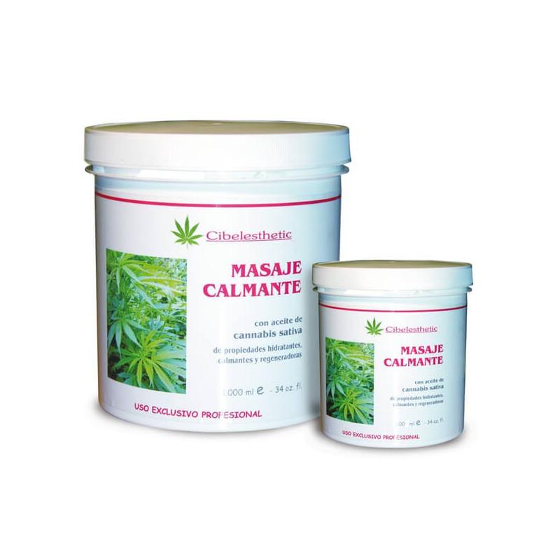 Cibelesthetic - Crema Calmante con aceite de cannabis - 1000ml