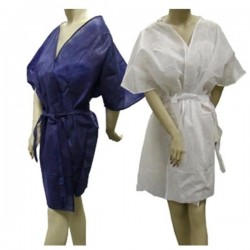 Kimono con mangas 40 gr azul - 15 uds