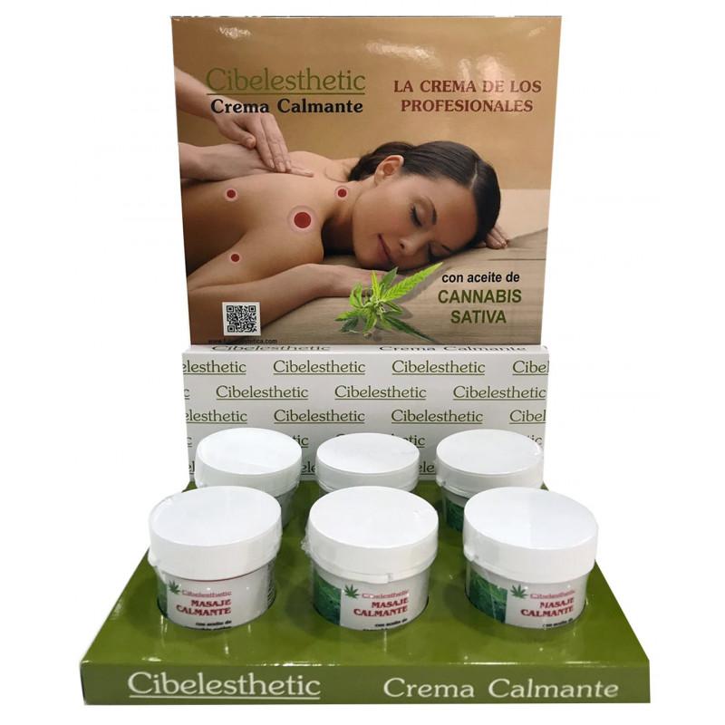 Cibelesthetic - Crema Calmante con aceite de cannabis - 100ml