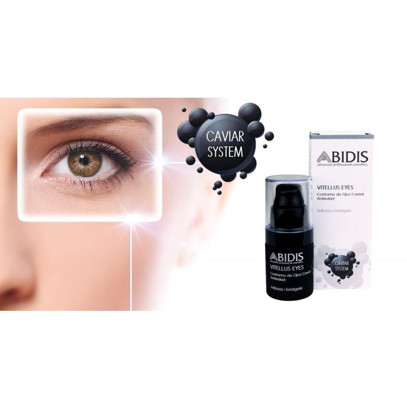 Abidis - VITELLUS Eyes. Contorno de ojos Caviar Antiedad 20ml.