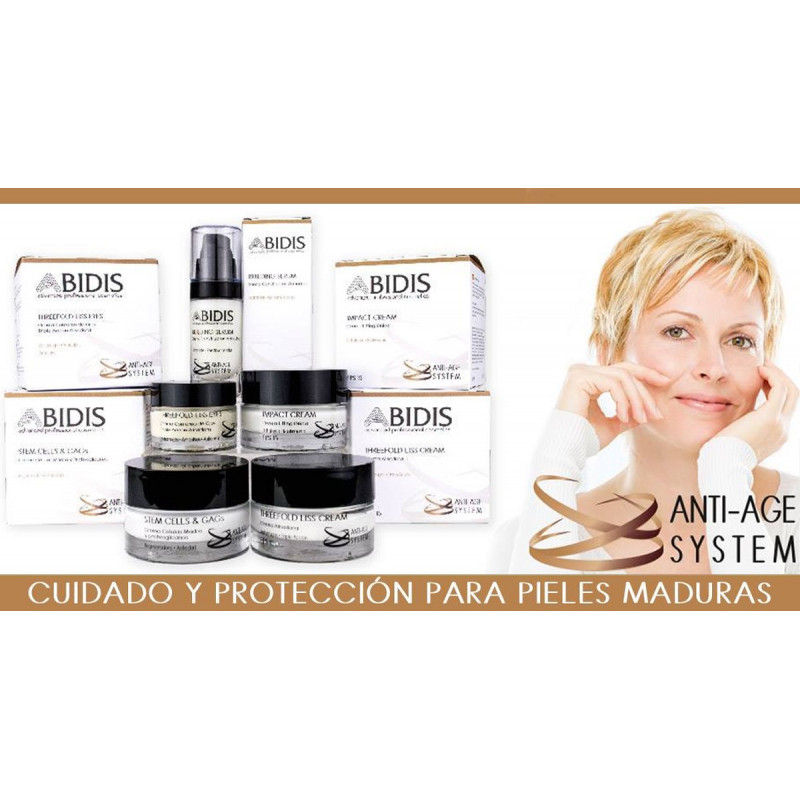 Abidis - STEM CELLS & GAGs. Crema Células Madre y proteoglicanos 60ml.