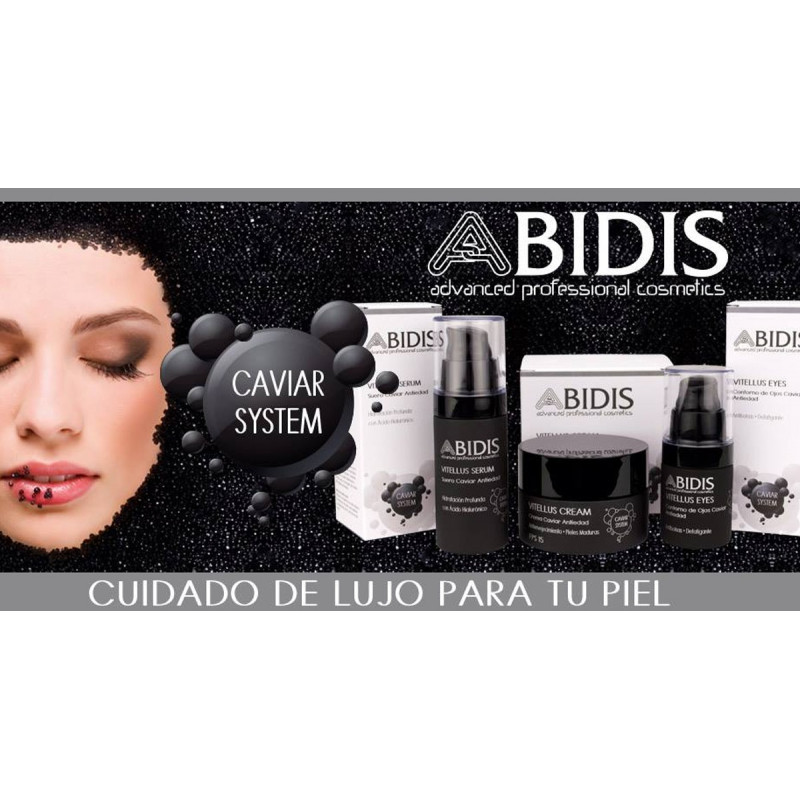 Abidis - VITELLUS Serum. Suero Caviar Antiedad 30ml.