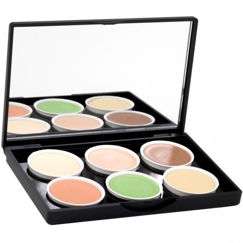 Stage Line - MAKE UP PALETTE Concealer 6 tonos