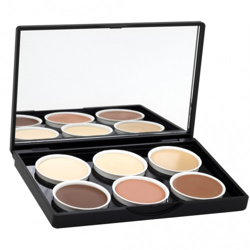 Stage Line - MAKE UP PALETTE Contouring 6 tonos