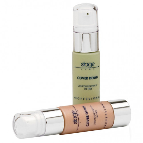 Stage Line - COVER DOWN. Maquillaje corrector fluido - 30ml.