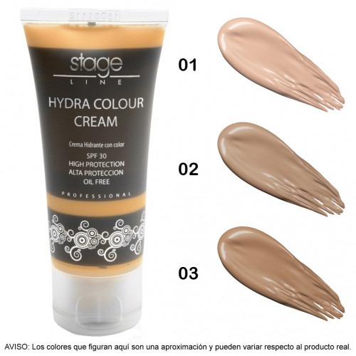 Stage Line - HYDRA COLOUR CREAM. SPF 30 - 30 ml