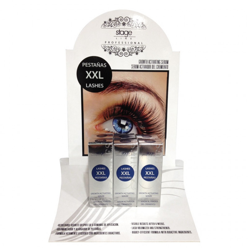 Stage Line - EXPOSITOR DE XXL LASHES. 6ud