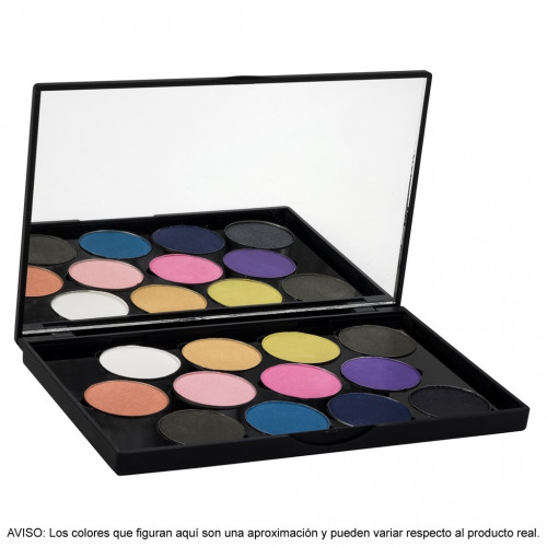Stage Line - SPHERE EYE SHADOW PALETTE 12 Sombras perladas