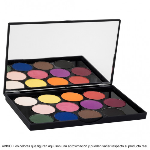 Stage Line - SPHERE EYE SHADOW PALETTE 12 Sombras mates