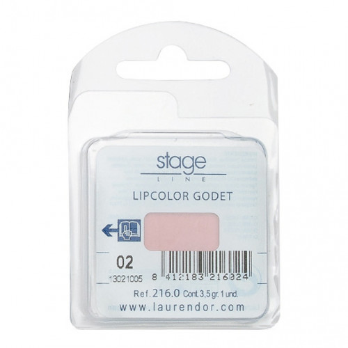 Stage Line - LIPCOLOR. Recambio godets - 3,5 g