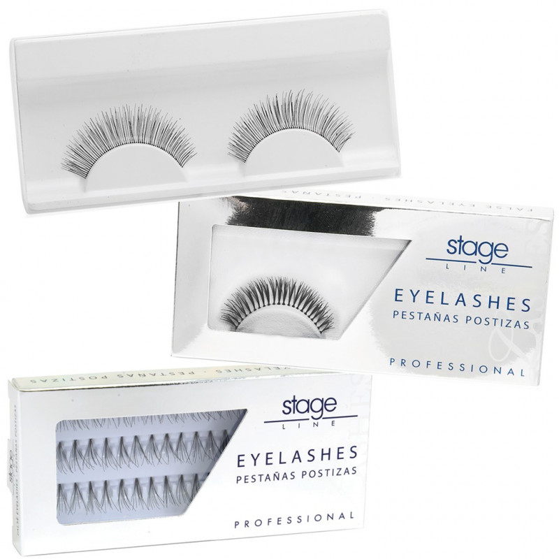 Stage Line - EYE LASHES. Pestañas postizas + adhesivo