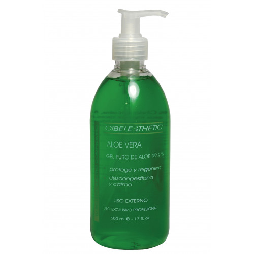 Cibelesthetic - Gel Aloe vera 99.90 % puro - 500ml