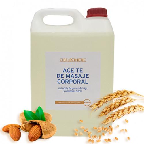 Cibelesthetic - Aceite de masaje con almendras dulces - 5000ml