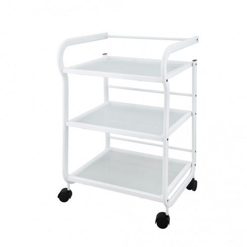 Weelko - Carrito tres estantes blanco (Help)