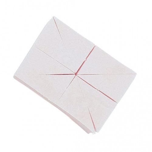 Stage Line - ESPONJA maquillaje rombo (triángulos). Látex
