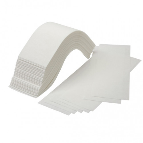 Bandas depilación papel tela - pack 100 uds