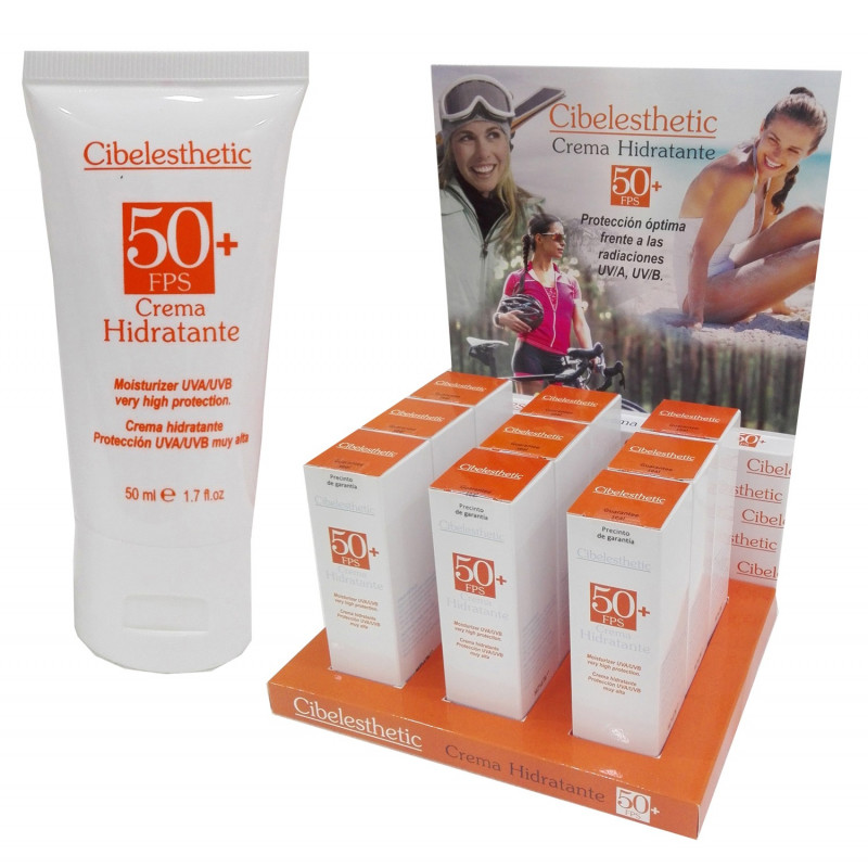 Cibelesthetic - Hidratante con Protección solar FPS 50+ - 50ml.