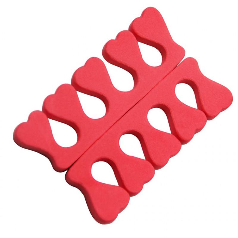 Separadedos para manicura y pedicura - Bolsa 100 pares