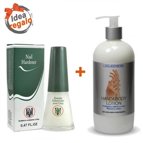 Pack Manos y Uñas - QA Endurecedor + Crema de manos