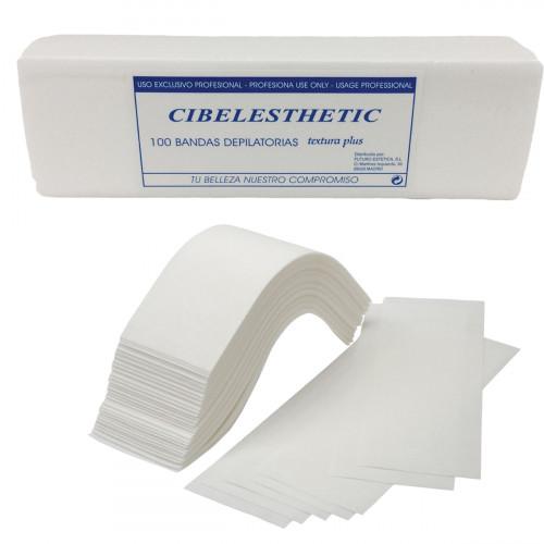 Cibelesthetic - Bandas depilación Textura Plus - 100 uds