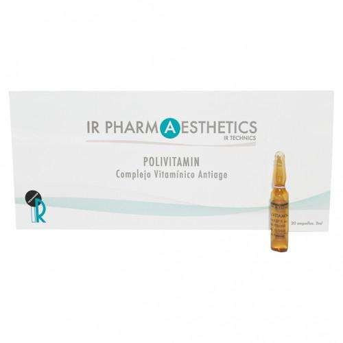 POLIVITAMIN. Complejo vitamínico antiage - 20 ampollas x 2ml.