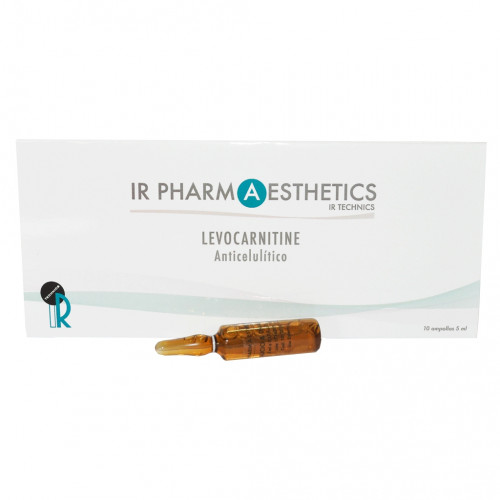 LEVOCARNITINE. Anticelulítico - 10 ampollas x 5ml.