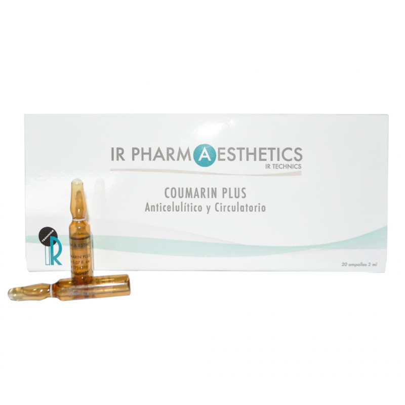 COUMARIN PLUS. Anticelulítico circulatorio - 20 ampollas x 2ml.