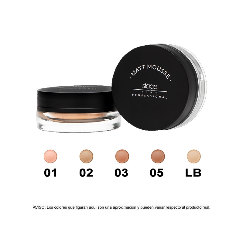 Stage Line - MATT MOUSSE MAKE UP - 15ml.