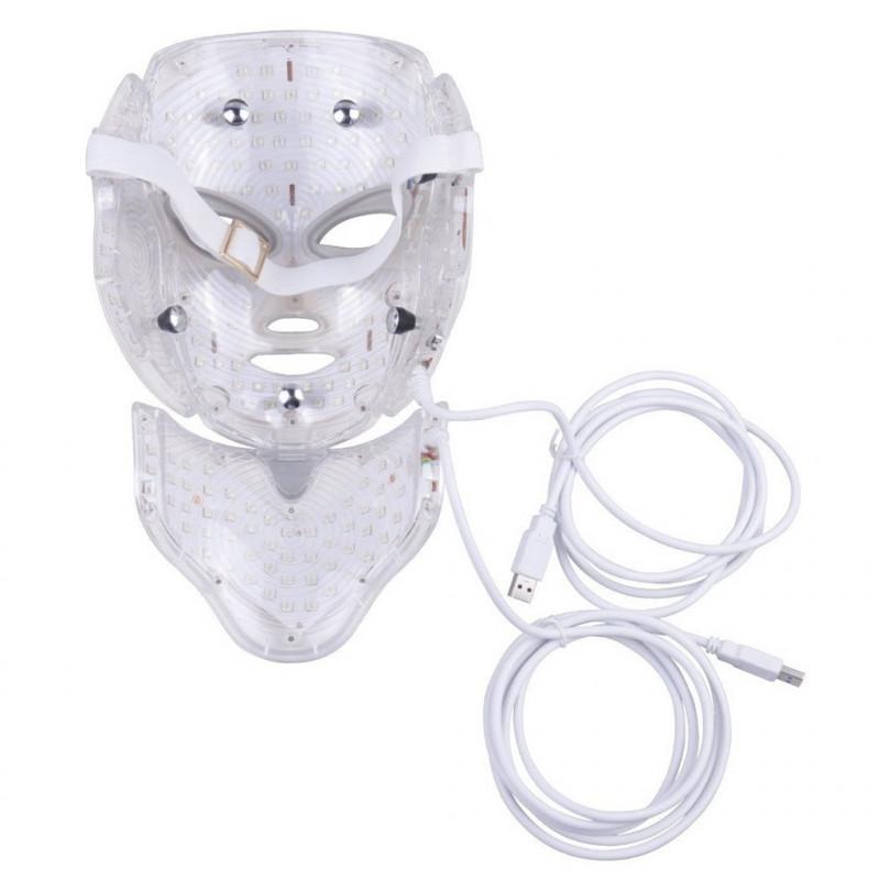 Máscara LED Rejuvenecimiento facial 7 colores