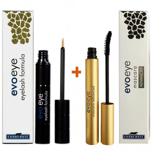 Pack EvoEye Eyelash formula + EvoEye Mascara ADVANCED