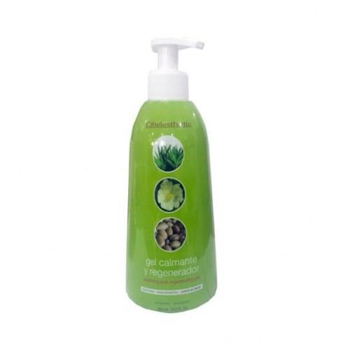 Pack Gel Aloe vera con Rosa mosq. y Argán - 500ml + Hilo depilación orgánico