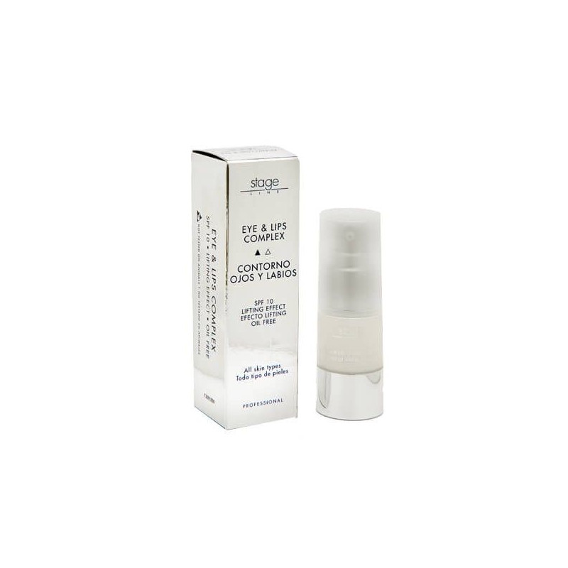 Stage Line - EYE & LIPS COMPLEX. Contorno ojos y labios - 15ml.