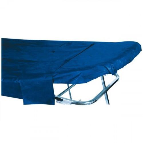 Sábana ajustable azul oscuro 30 grs. 80x210 cm. (1 Unid.)
