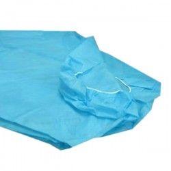 Sábana ajustable azul celeste 30 grs. 80x210 cm. (1 Unid.)
