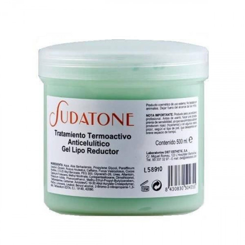 Diet Esthetic - Sudatone gel termo activo - 500 ml.