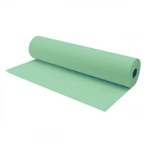 Rollo papel camilla Verde 100 m.