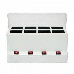 Base calentador 4+4 rollones